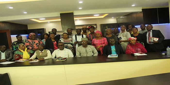 Staff of National Boundary Comm. Participants At IRAMN Training